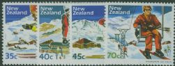 NZ SG1336-9 Ski-slope Scenery set of 4